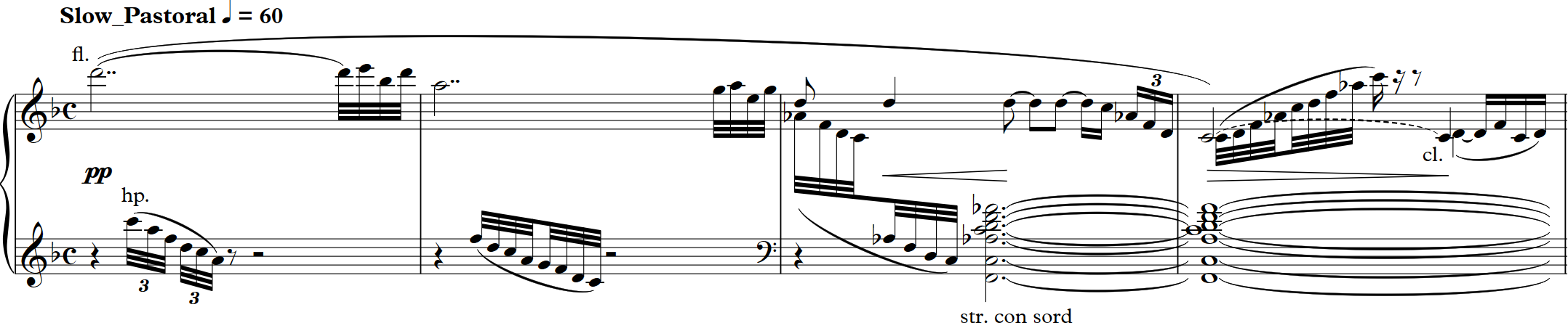 Musical incipit for this work